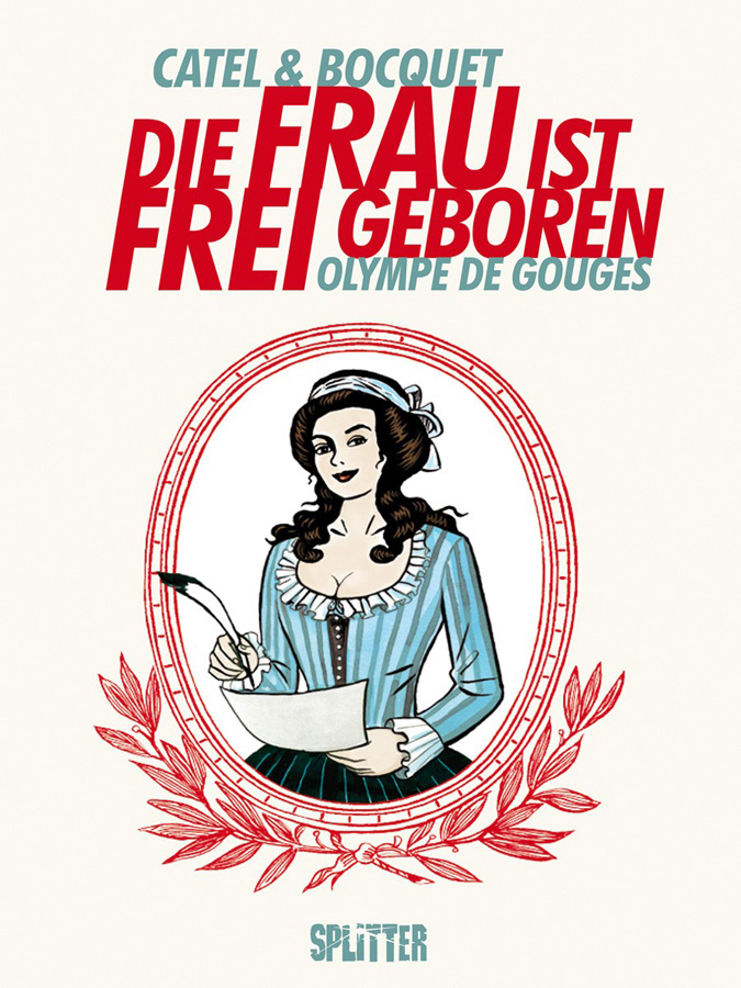 Cover Die Frau ist frei geboren