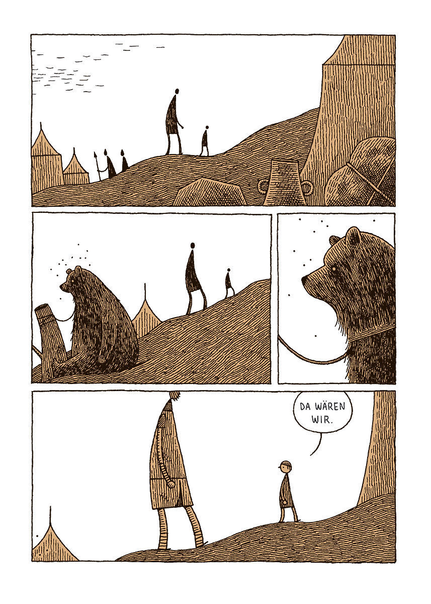 Seite aus Goliath