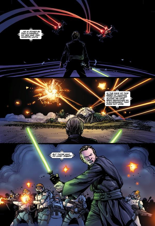 Seite aus Star Wars: Invasion