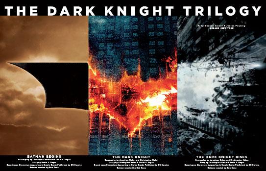 Seite aus Batman – Das Making-of der Dark Knight Trilogie