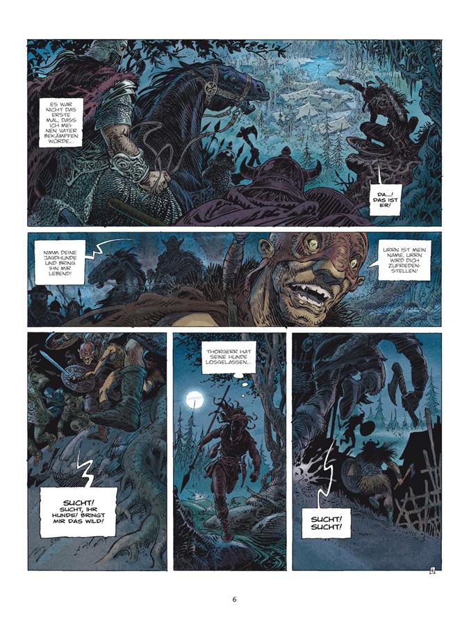 Seite aus Saga Valta 1