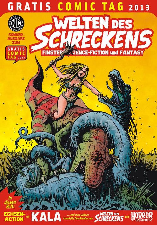 Welten des Schreckens – Ausgabe zum Gratis-Comic-Tag 2013