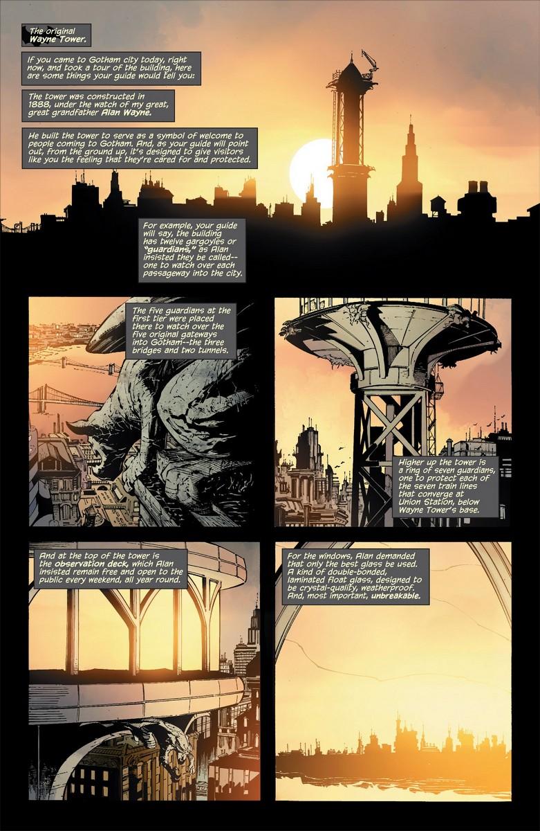 Seite aus Batman: Court of Owls