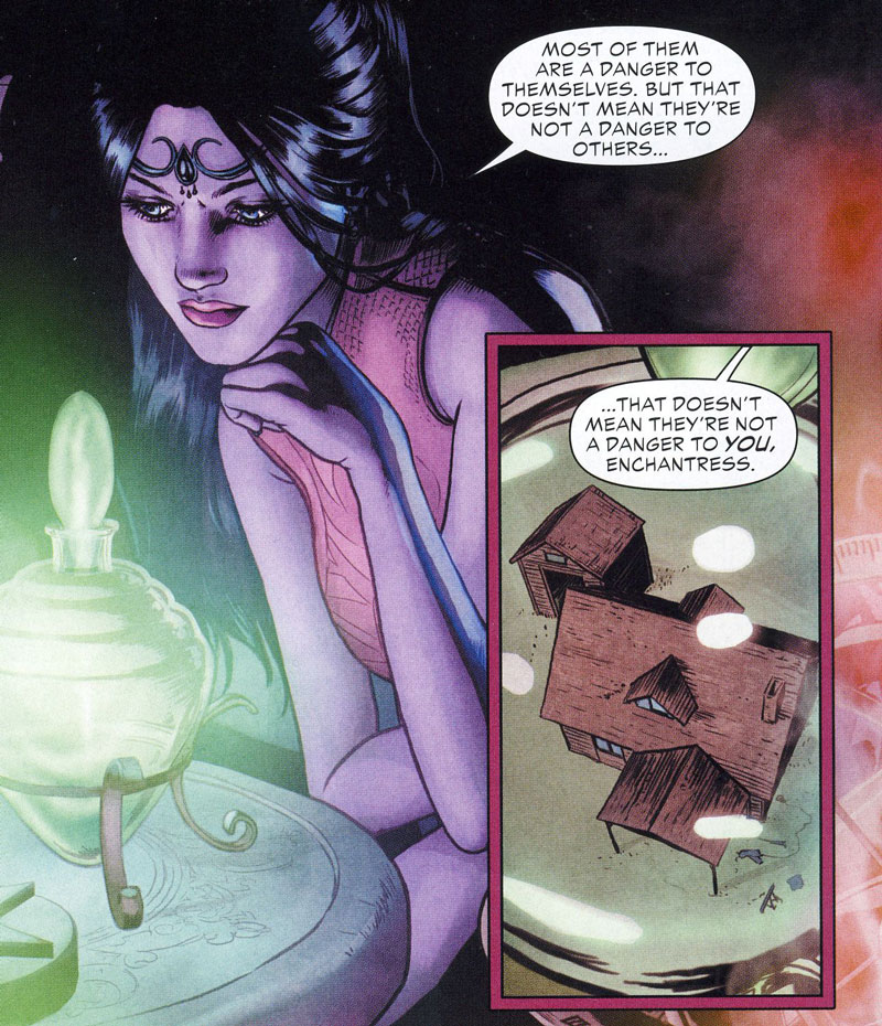 Madame Xanadu aus Justice League Dark 1 – In The Dark