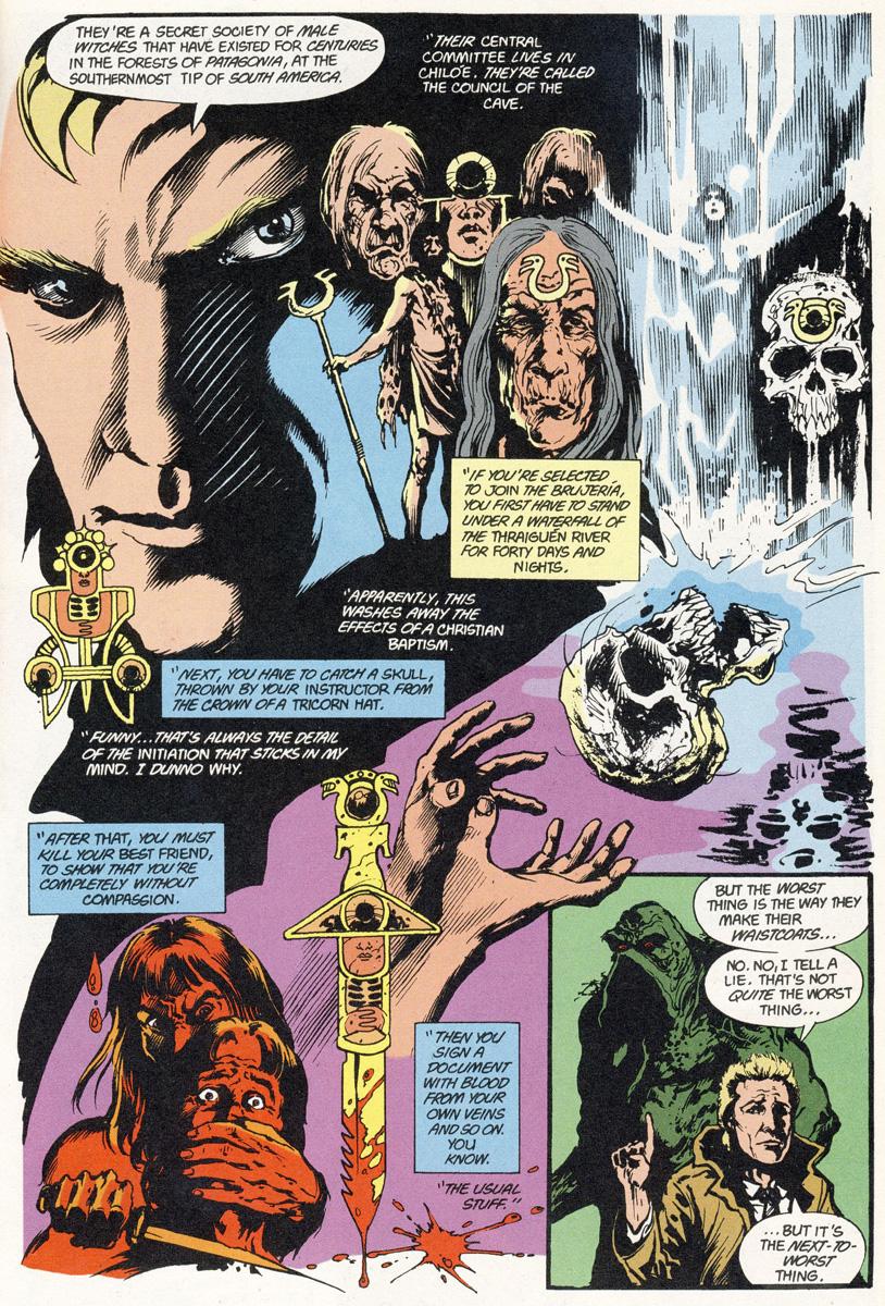Bild 2, Swamp Thing 46 (Moore, Bissette, Totleben)
