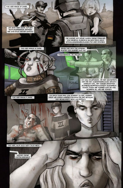 Seite aus Hades-Syndrom 6