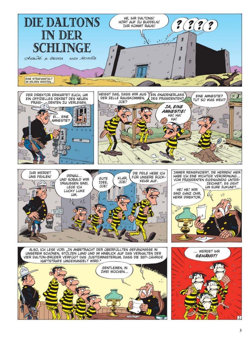 Seite aus Lucky Luke 80