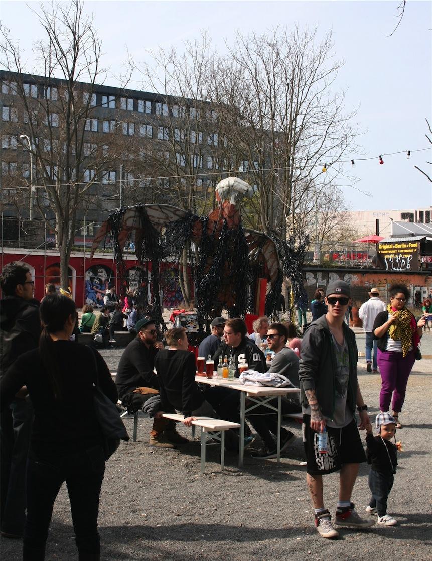 Außenbereich des Urban Spree