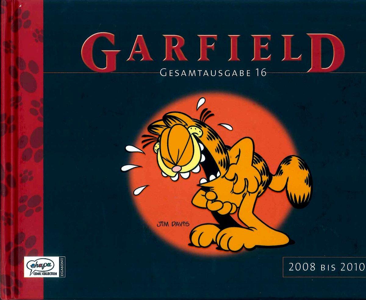 Cover Garfield Gesamtausgabe 16