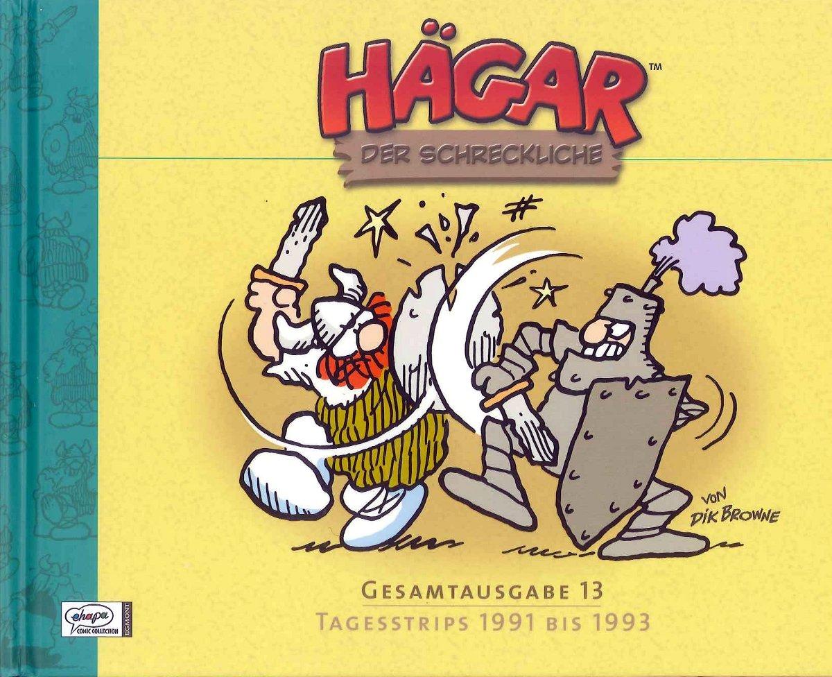 Cover Hägar Gesamtausgabe 13