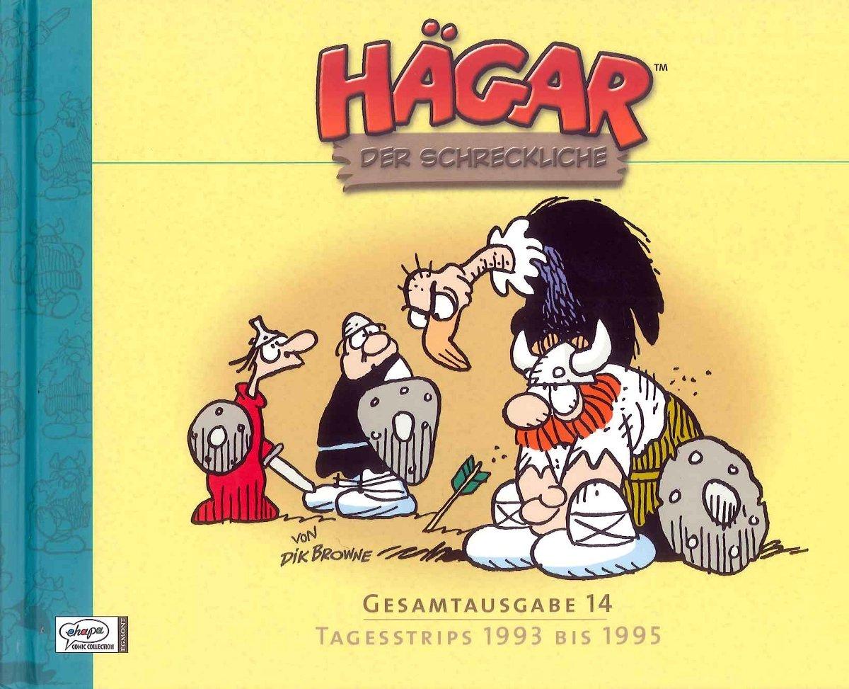 Cover Hägar Gesamtausgabe 14