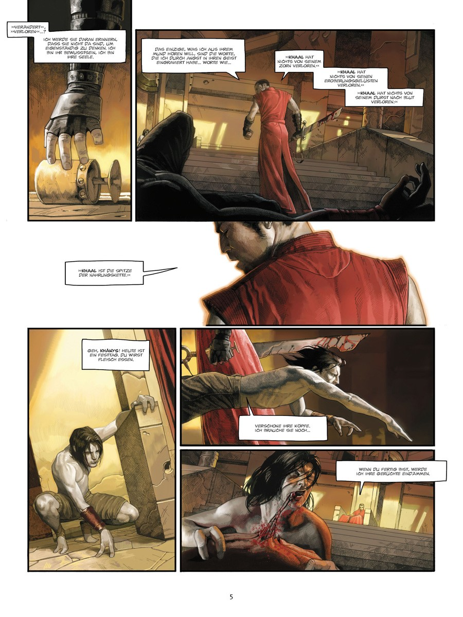 Seite aus Khaal 1
