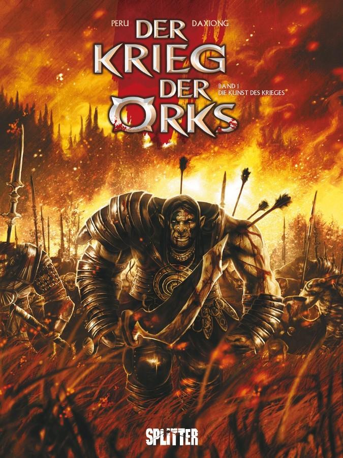 Cover Krieg der Orks