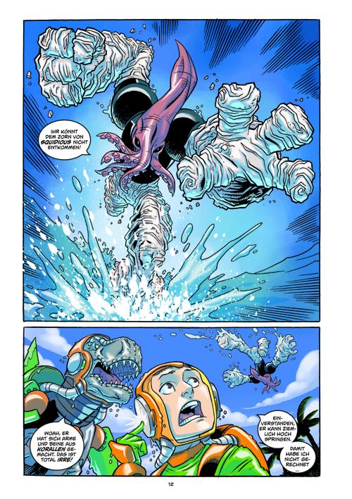 Seite aus Super Dinosaur 2
