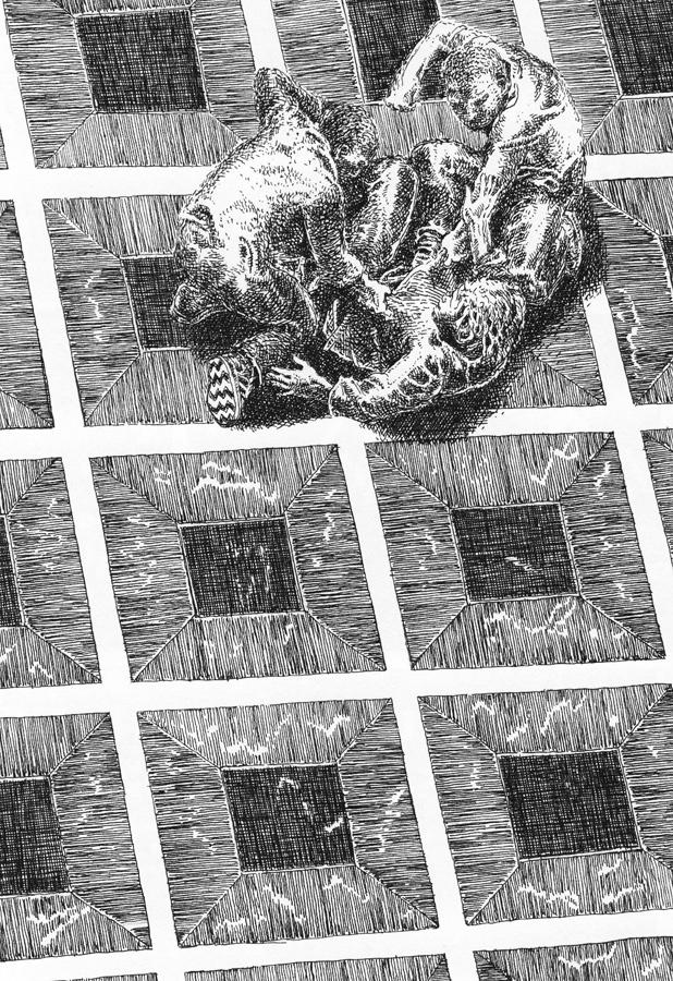 Seite aus Die Atriden: Die Söhne des Pelops erschlagen ihren Halbbruder
