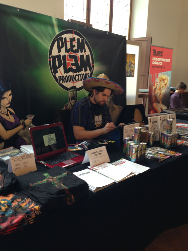 Comicfestival München 2013, Plem Plem Comics