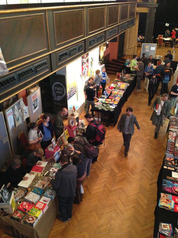 Blick ins Künstlerhaus zu den Großverlagen 1