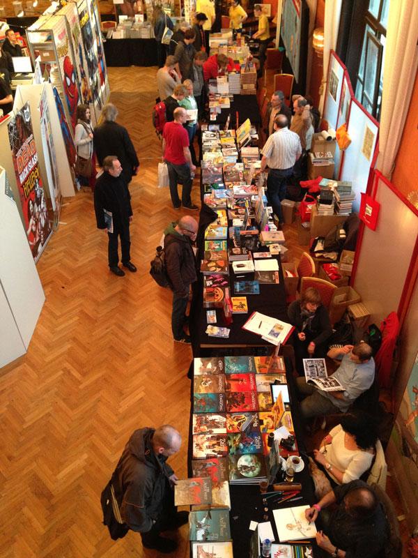 Blick ins Künstlerhaus zu den Großverlagen 3