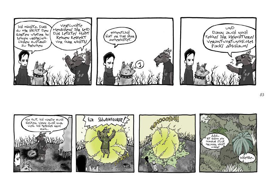 Seite aus Der junge Lovecraft