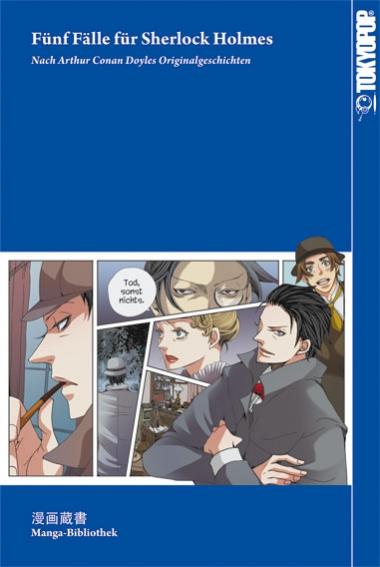 Manga-Bibliothek 1: Fünf Fälle für Sherlock Holmes