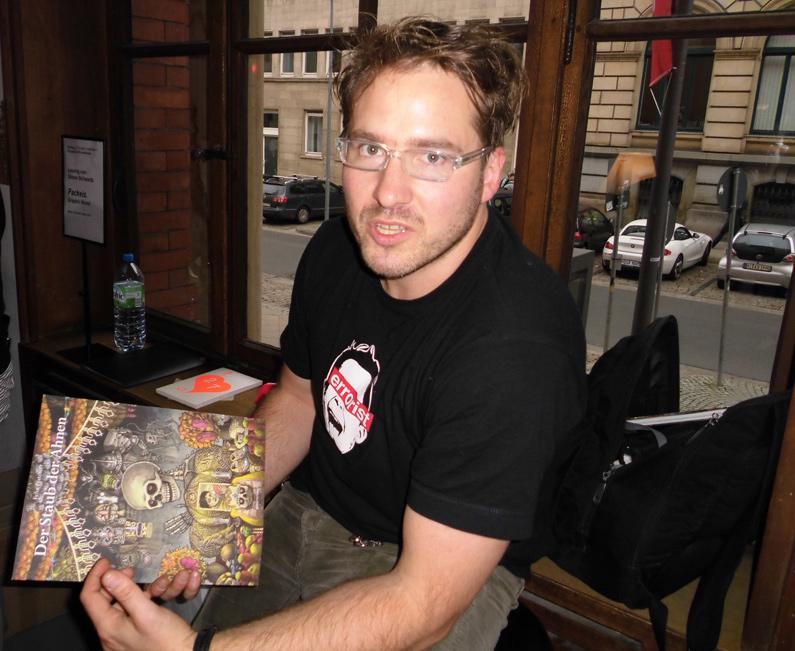 Felix Pestemer bei der Buchlust in Hannover