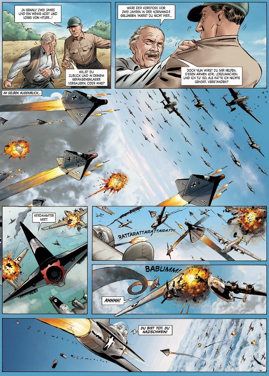 Seite aus Wunderwaffen 1
