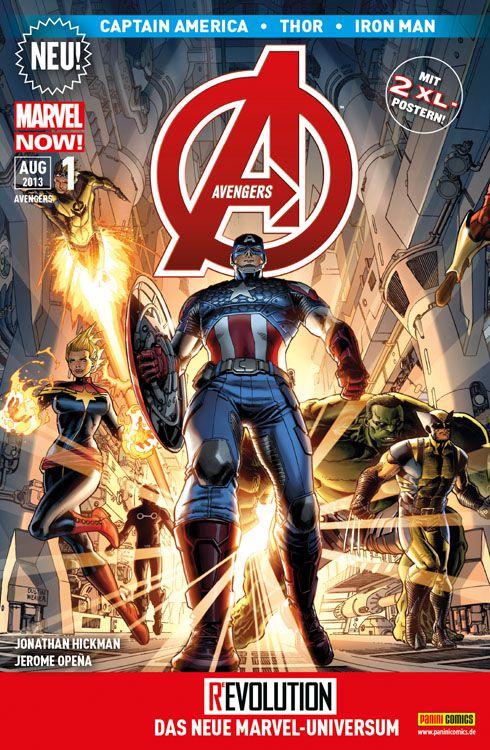 Cover Avengers 1