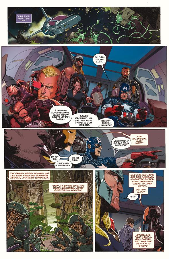 Seite aus Avengers 1