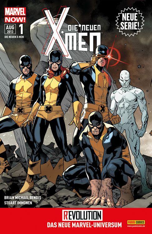 Cover Die neuen X-Men 1