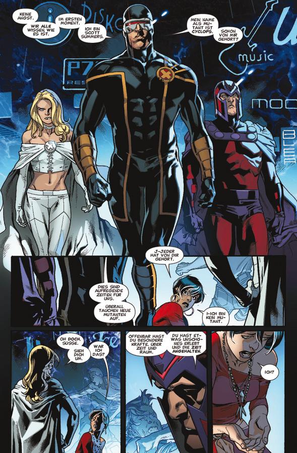 Seite aus Die neuen X-Men 1