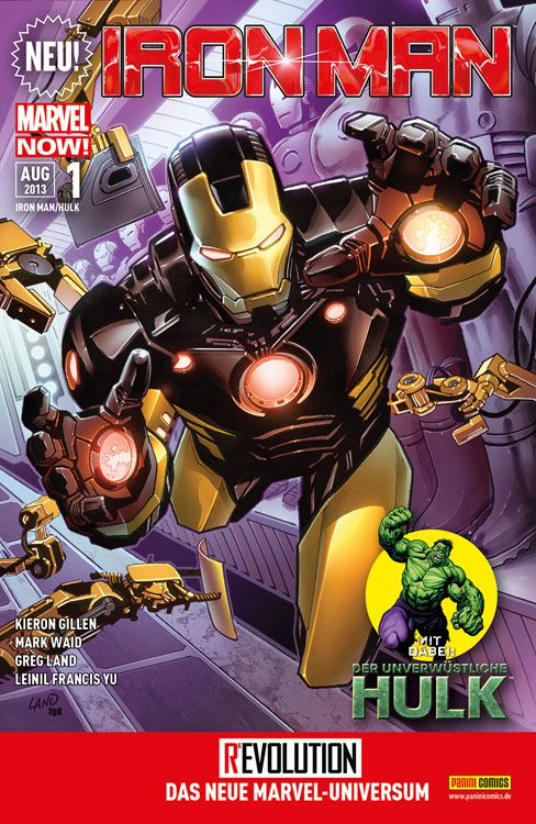 Cover Iron Man/Hulk 1
