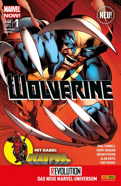 Cover Wolverine/Deadpool 1