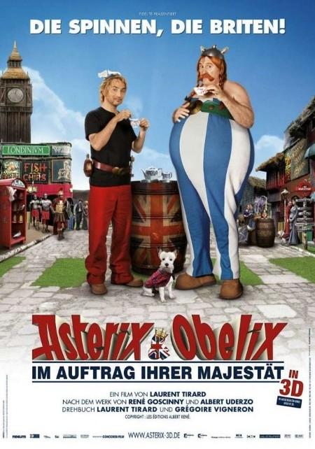Asterix und Obelix im Auftrag ihrer Majestät