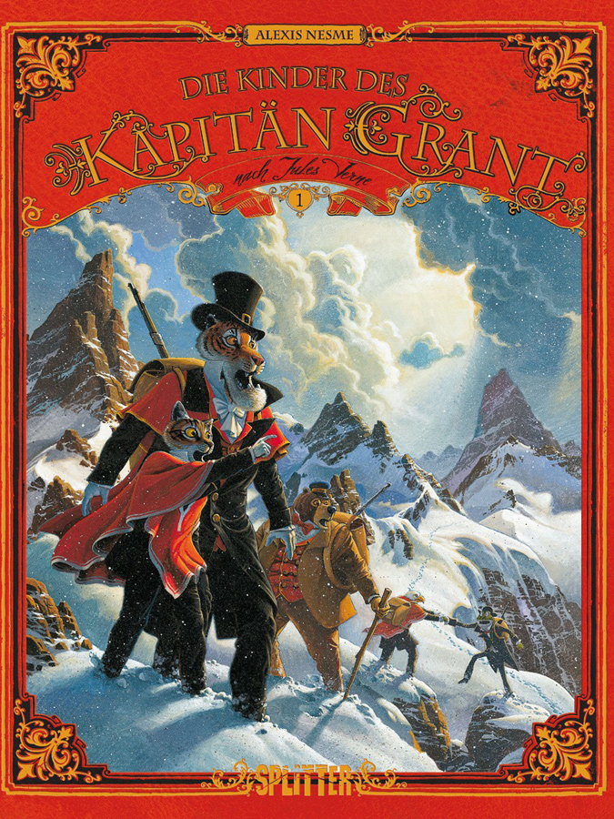 Cover Die Kinder des Kapitän Grant 1