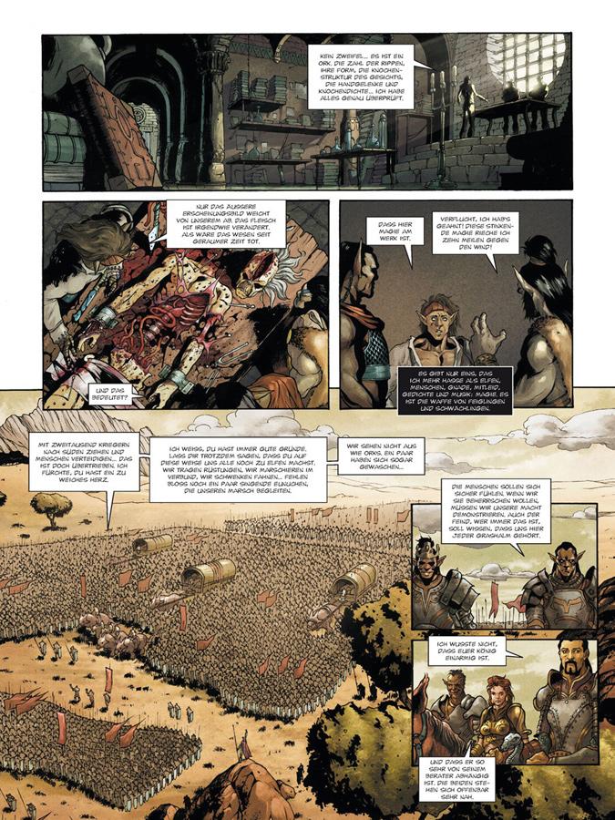 Seite aus Der Krieg der Orks 2