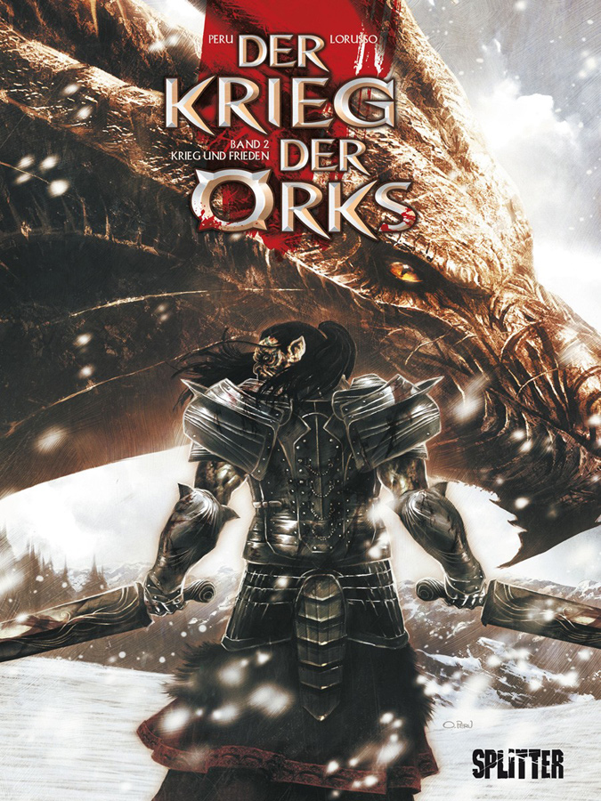 Cover Der Krieg der Orks 2