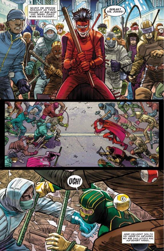 Seite aus Kick-Ass 2