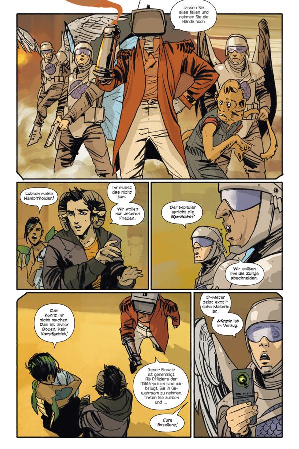 Seite aus Saga 1