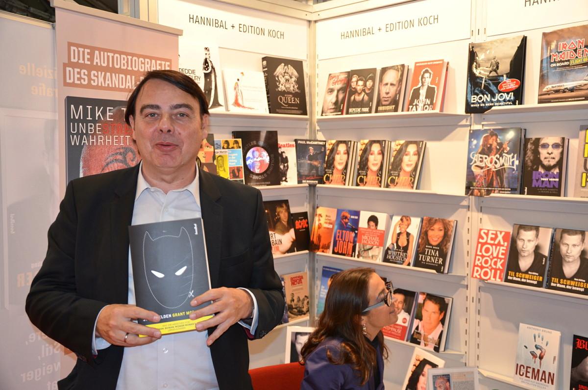 """Comics gehören zur Pop-Kultur"": Eckhard Schwettmann vom Hannibal-Verlag"