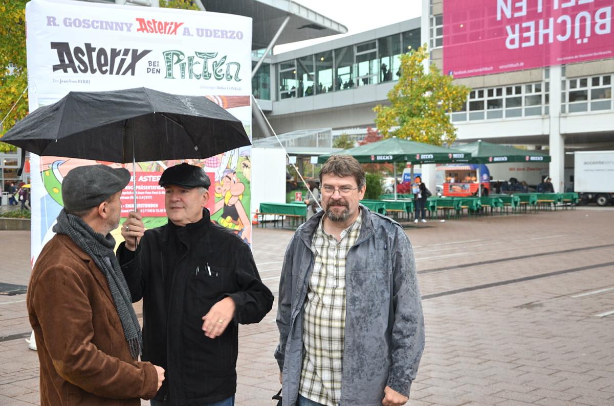 Der Übersetzer steht im Regen: Klaus Jöken und das neue Asterix-Team