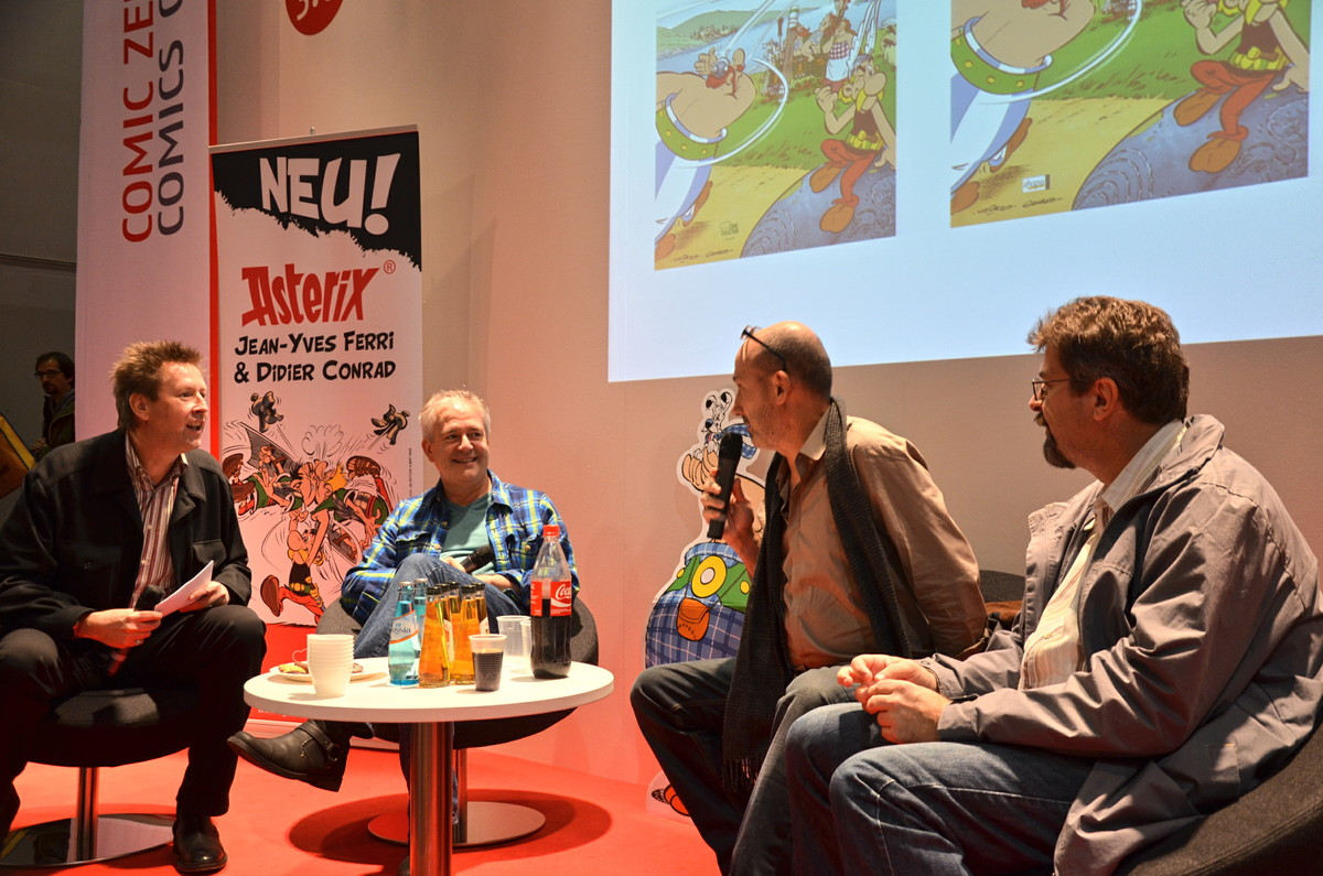 Asterix-Gesprächsrunde am Samstag