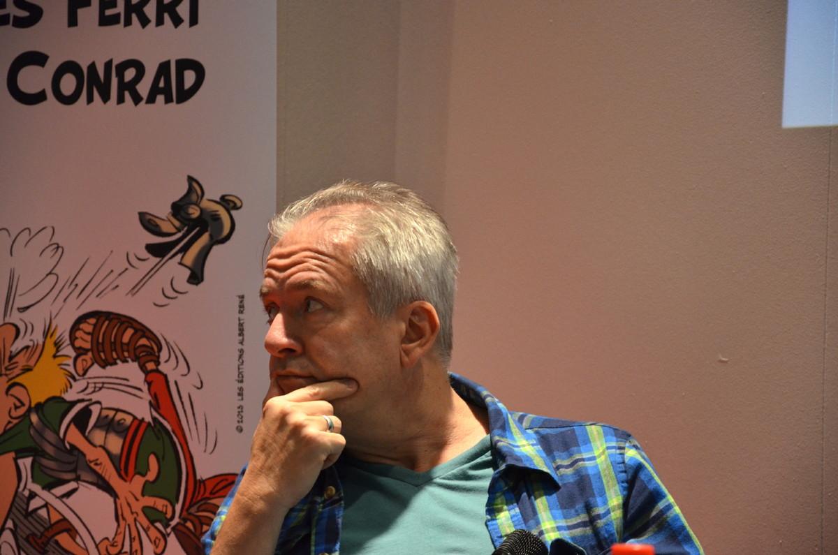 Asterix' neuer Zeichner Didier Conrad