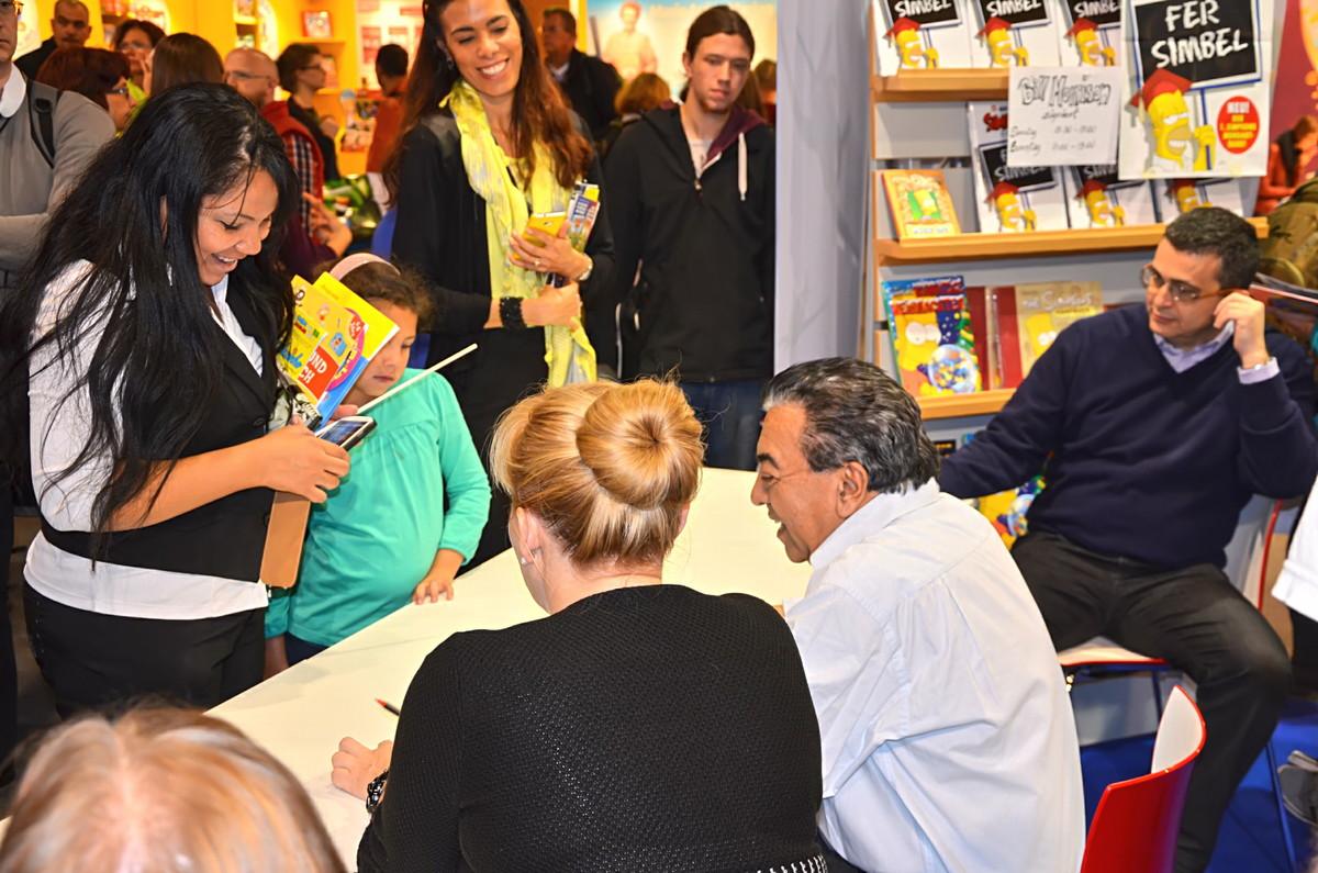 Mauricio de Sousa trifft auf seine Leser