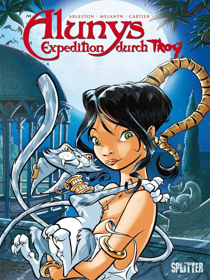 Cover Alunys' Expedition durch Troy