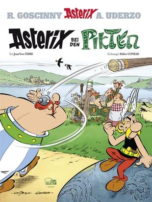 Cover Asterix bei den Pikten