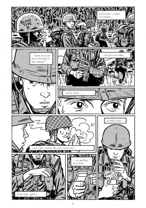 Seite aus Guerillas 1