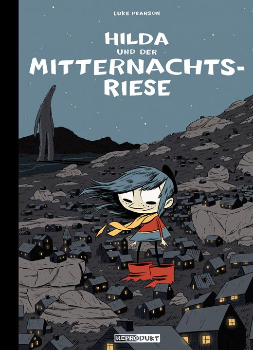 Cover Hilda und der Mitternachtsriese
