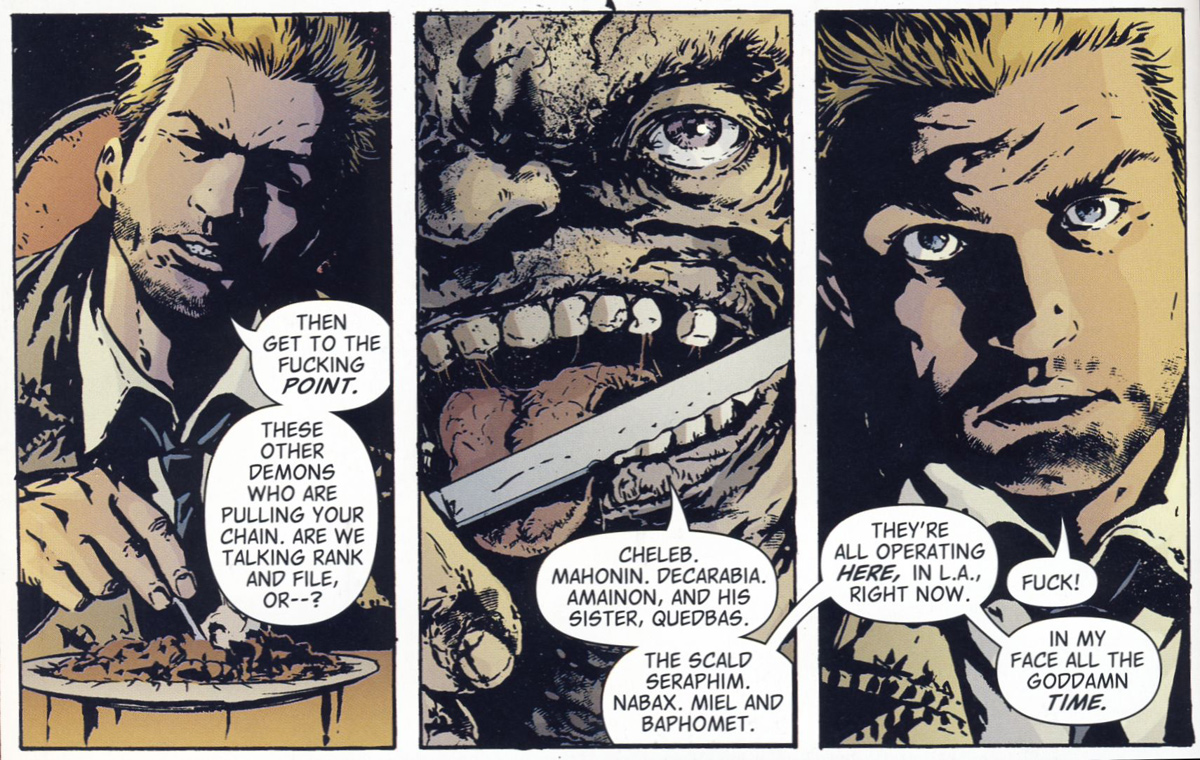 Bild 2, Hellblazer – All His Engines (Carey, Manco 2005)