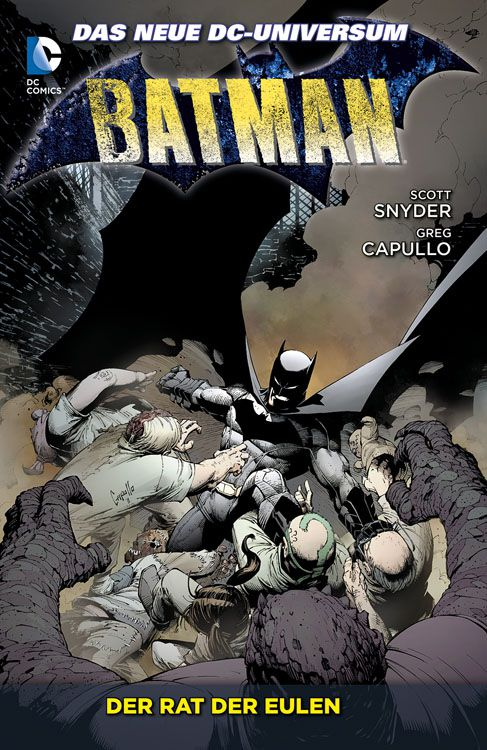 Batman Paperback 1 – Der Rat der Eulen