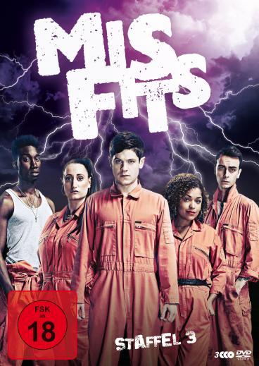 Misfits Staffel 3 DVD